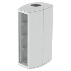 Módulo 8 mecanismos columna diametro. 50 gris Unex 65 en pvc