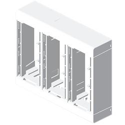 Caja 6 mecanismos blanco Unex en pvc