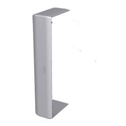 Cubrejuntas color aluminio para canal Unex 50x100 en pvc