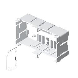 Caja de 120 mm 65 en pvc