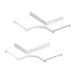 Derivación ángulo interior blanco Unex 50 en pvc
