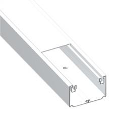 CANAL 1 TAPA BLANCO UNEX 50X80 EN PVC, PRECIO X METRO
