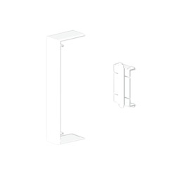 Cubrejuntas blanco Unex 50x100 en pvc