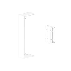 Cubrejuntas blanco Unex 50x130 en pvc