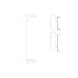 Cubrejuntas blanco Unex 50x170 en pvc