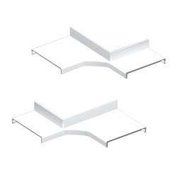 Derivación ángulo interior blanco Unex 70 en pvc
