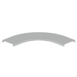 PRECIOS INCREIBLES TAPA ESQUINA GRIS PARA CANAL UNEX 100 EN PVC GRIS