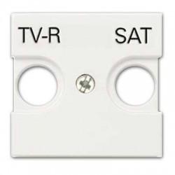 TAPA TOMA TV+R/SAT BLANCO NIESSEN SERIE ZENIT