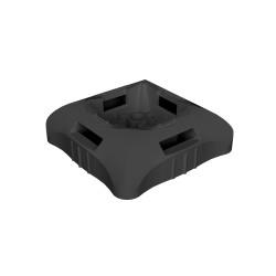 Base para clavo negro libre halogeno