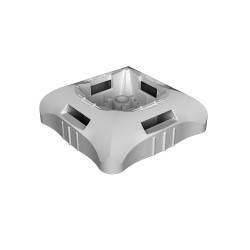 Base para clavo gris Unex libre halogeno