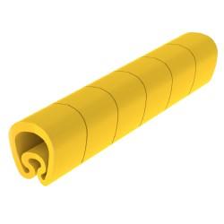 Anilla simbolo D para cable hasta 8mm de seccion