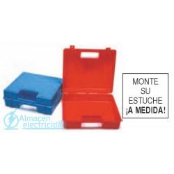 MALETA PLASTICO MODELO 170/38 (390X295X95 AZUL)