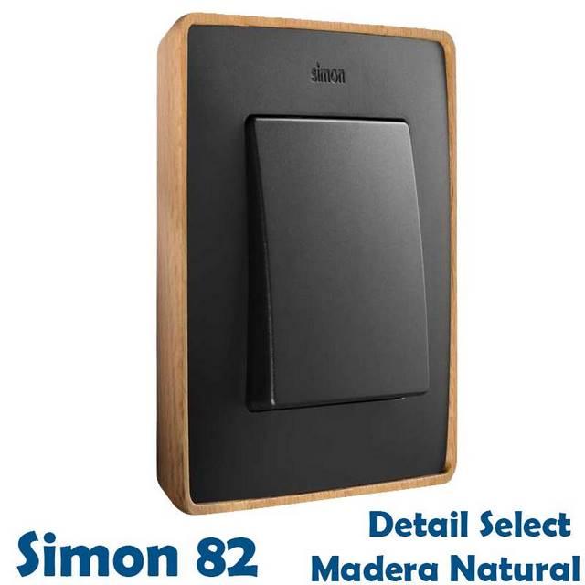 SIMON 82 DETAIL MADERA NATURAL