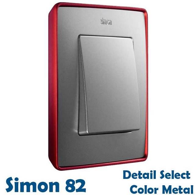SIMON 82 DETAIL COLOR METALIZADO