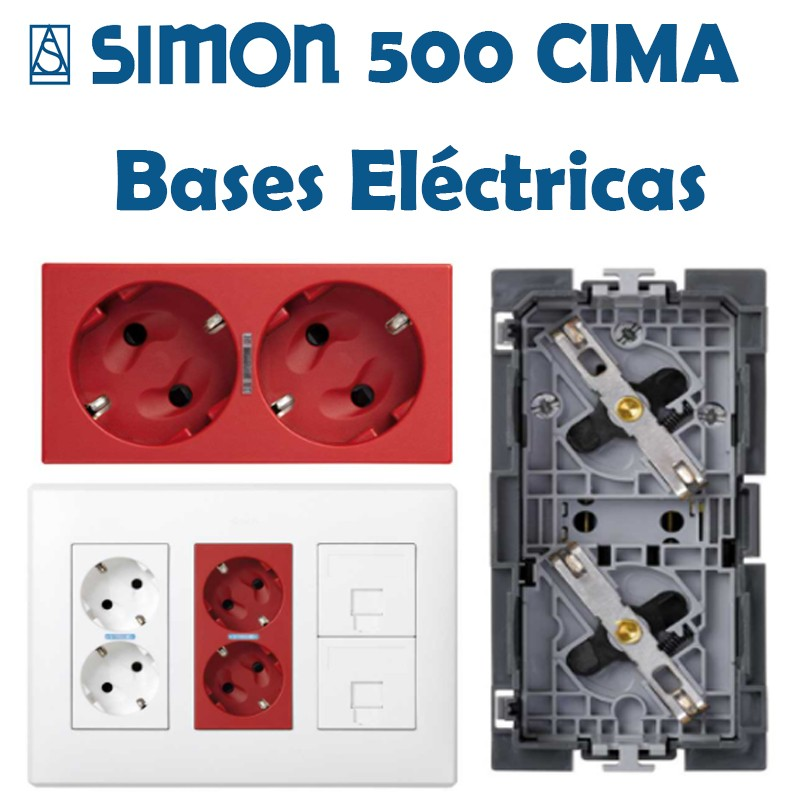 SIMON 500 CIMA BASES ELÉCTRICAS