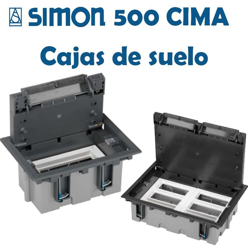 SIMON 500 CIMA CAJAS DE SUELO