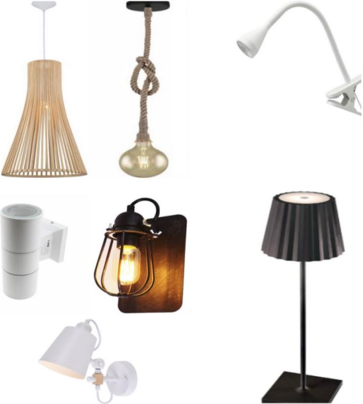 LAMPARAS , APLIQUES, PLAFONES, AROS, COLGANTES