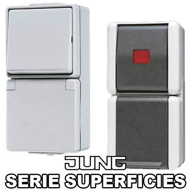JUNG SERIES SUPERFICIE