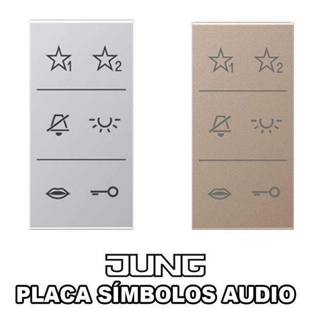 JUNG-PLACA SIMBOLOS AUDIO