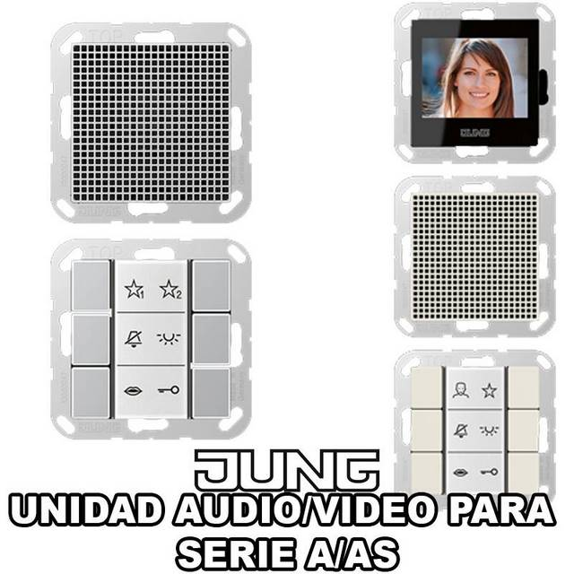 JUNG-UNIDAD AUDIO-VIDEO A/AS
