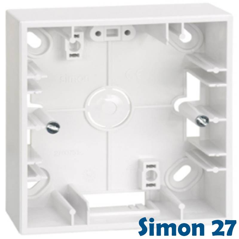 cajas superficie simon 27