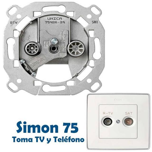SIMON 75 TOMAS TELEVISION Y TELEFONO