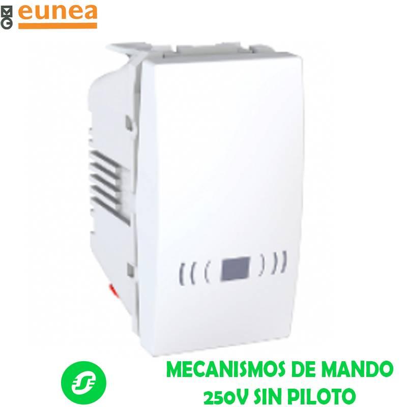 MECANISMOS DE MANDO 250V SIN PILOTO