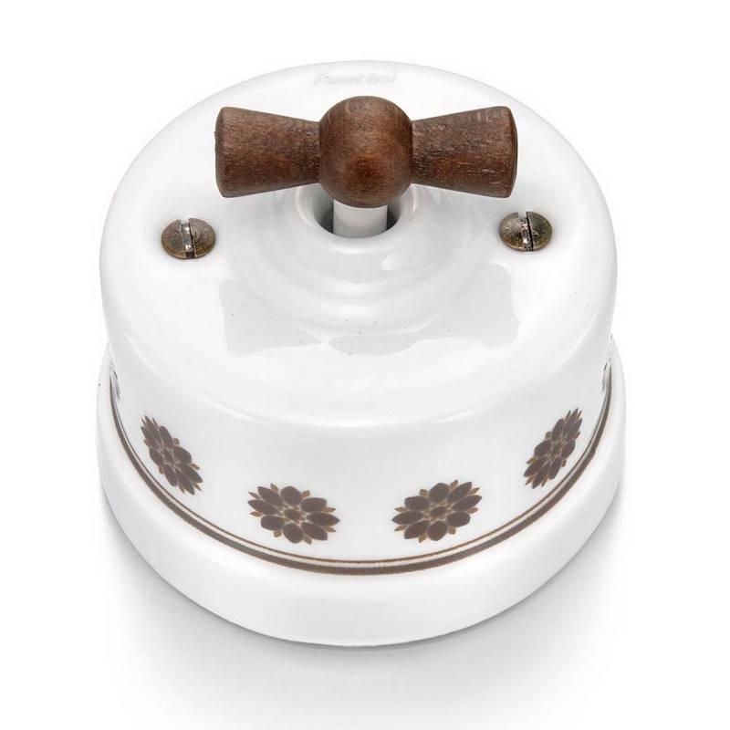 Fontini garby collection marron-blanco