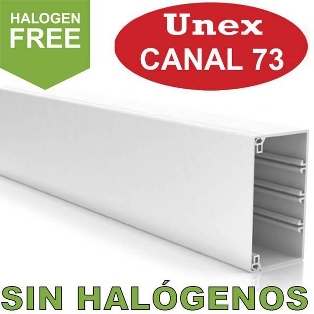 UNEX 73 CANAL 0 HALOGENOS
