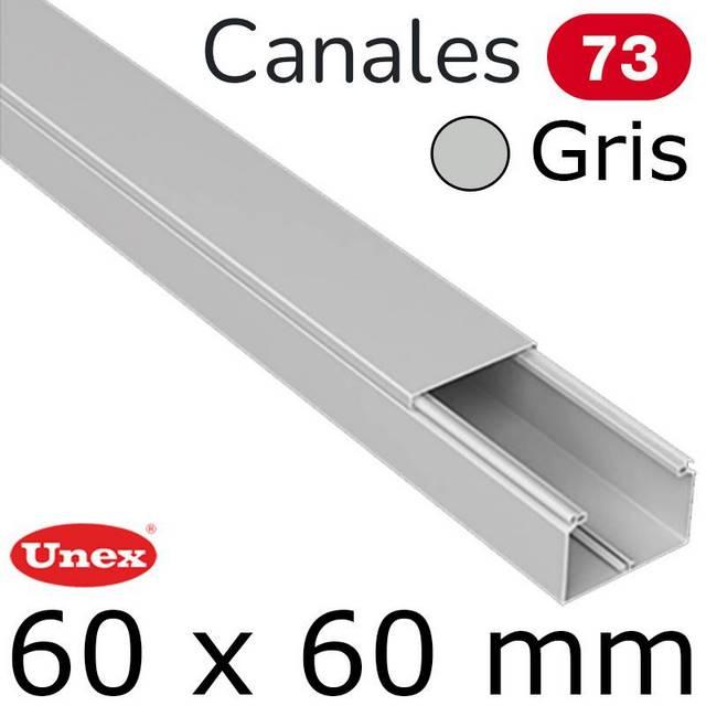 UNEX 73 CANAL 60X60 GRIS