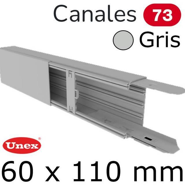 UNEX 73 CANAL 60X110 GRIS