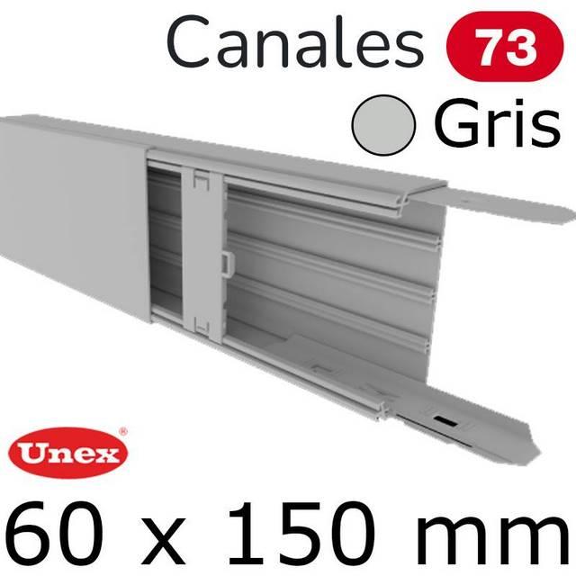 UNEX 73 CANAL 60X150 GRIS