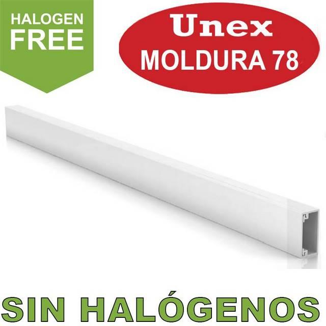 UNEX 78 MOLDURA 0 HALOGENOS