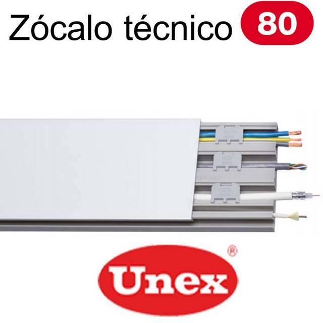 UNEX 80 ZOCALO TECNICO