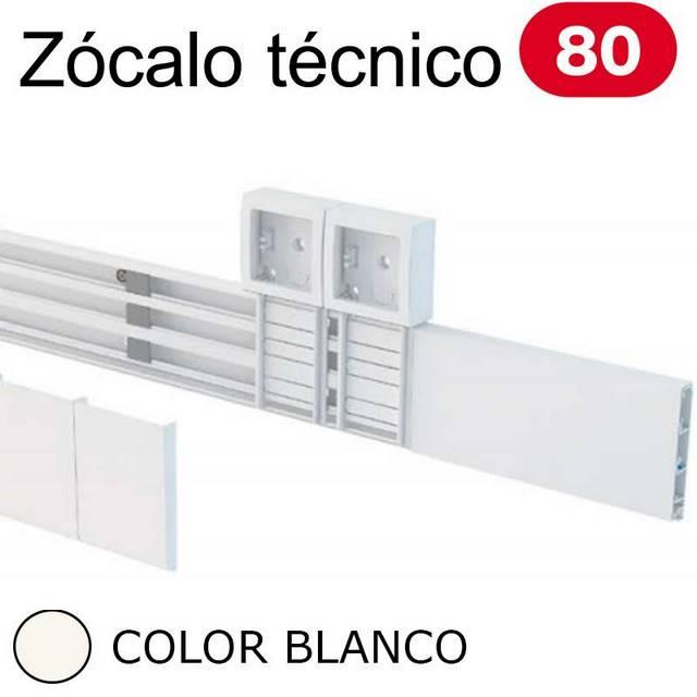 UNEX 80 ZOCALO BLANCO