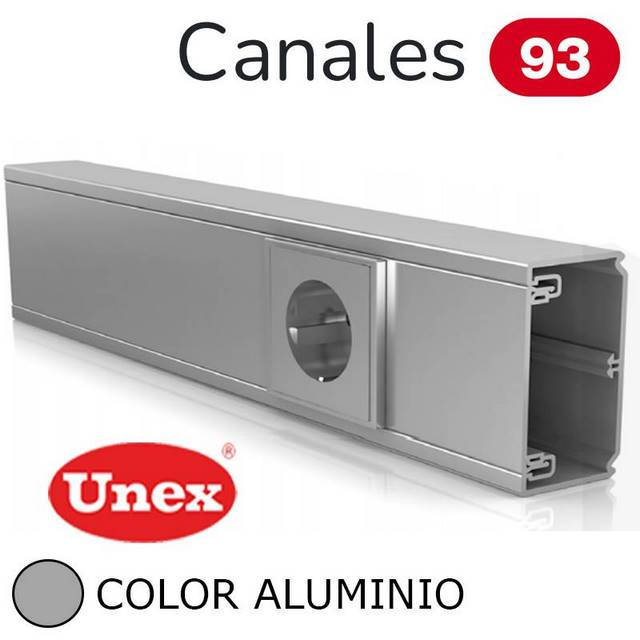 UNEX 93 CANAL ALUMINIO