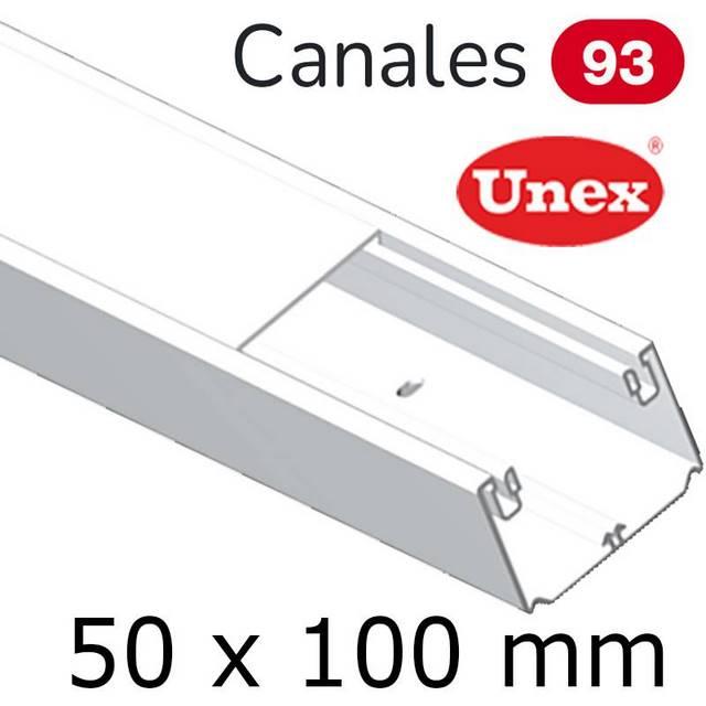 UNEX 93 CANAL 50X100 BLANCO