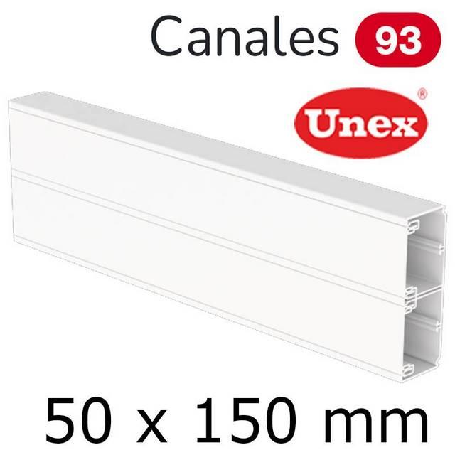 UNEX 93 CANAL 50X150 BLANCO