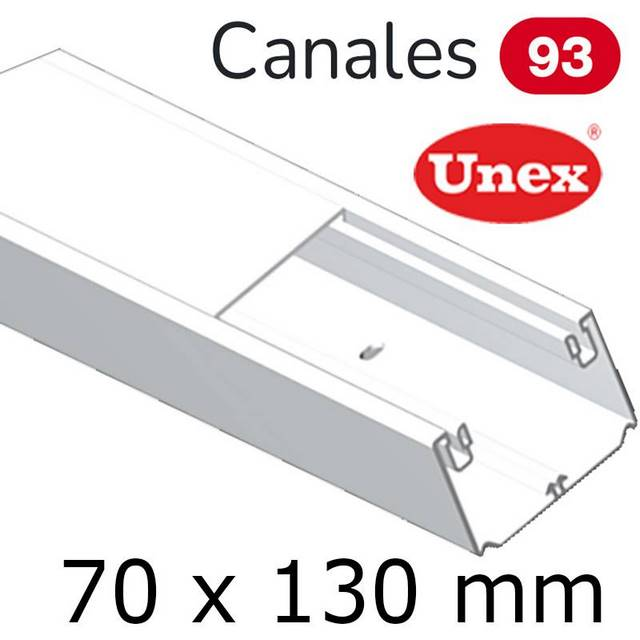 UNEX 93 CANAL 70X130 BLANCO