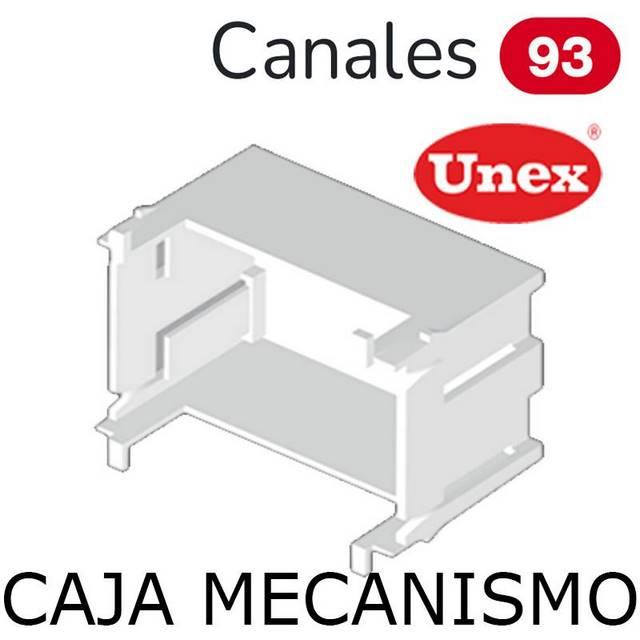 UNEX 95 CAJA TAPA 65 BLANCA