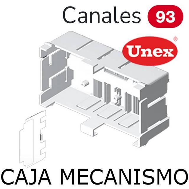 UNEX 95 CAJA TAPA 80 BLANCA