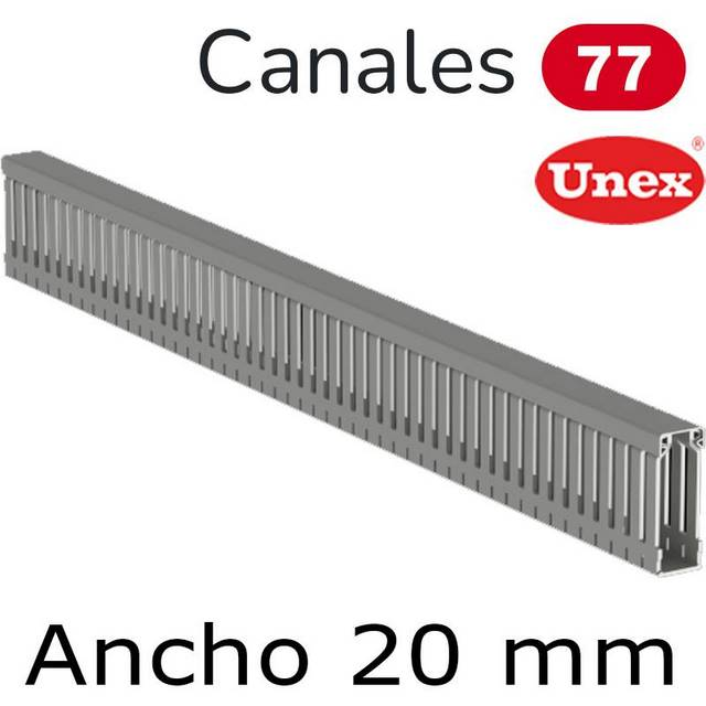 UNEX 77 CANAL ANCHO 20MM