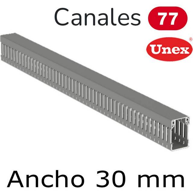 UNEX 77 CANAL ANCHO 30MM