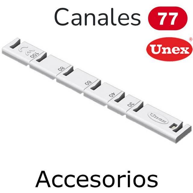 UNEX 77 ACCESORIOS