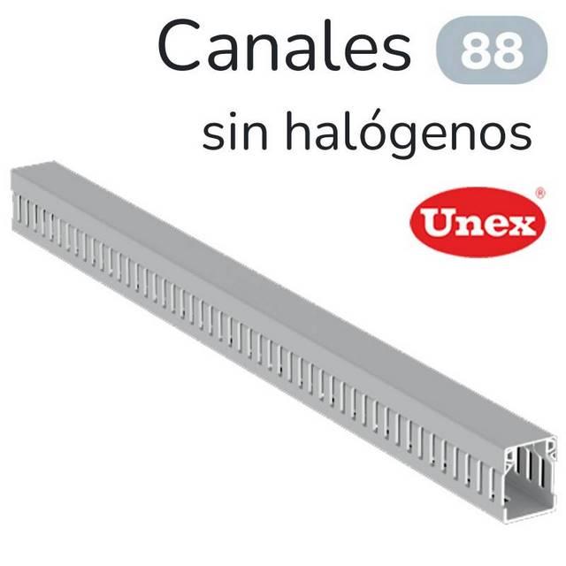 UNEX 88 CANAL RANURADO 0/HALOGENO