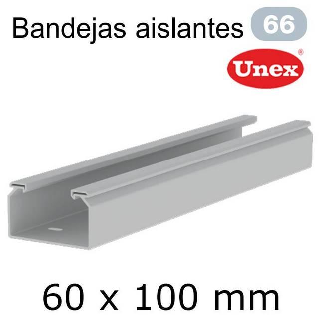 UNEX 66 BANDEJA PVC 60X100