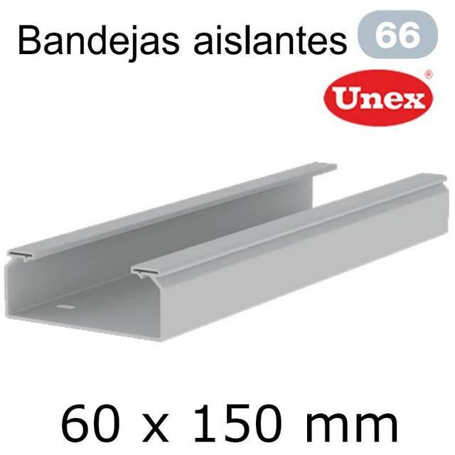 UNEX 66 BANDEJA PVC 60X150