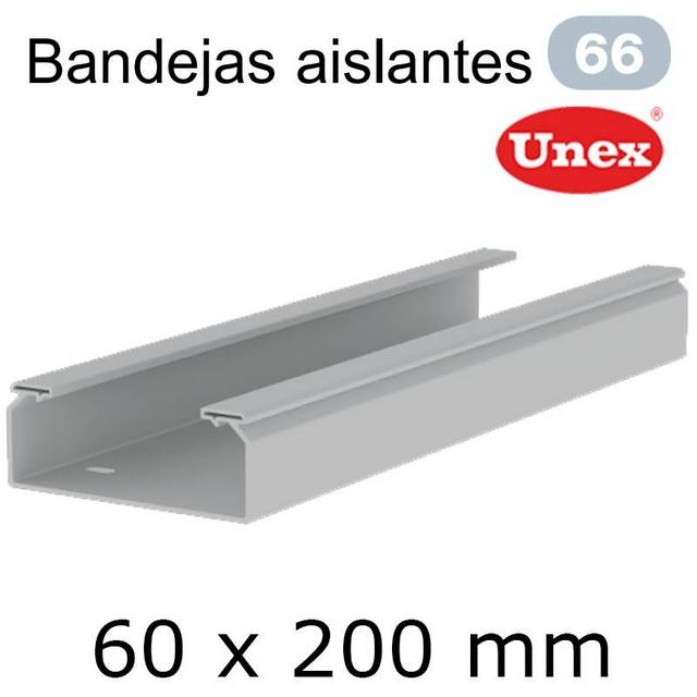UNEX 66 BANDEJA PVC 60X200