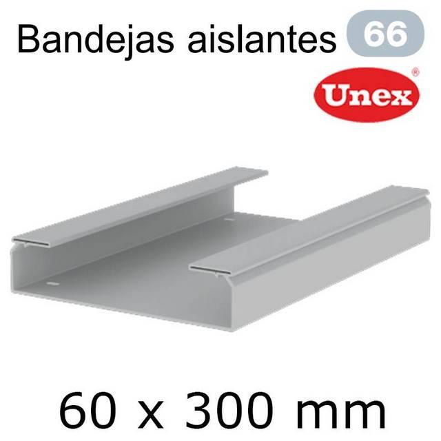 UNEX 66 BANDEJA PVC 60X300