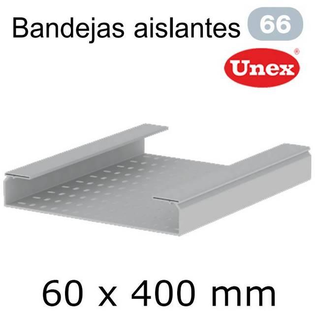UNEX 66 BANDEJA PVC 60X400